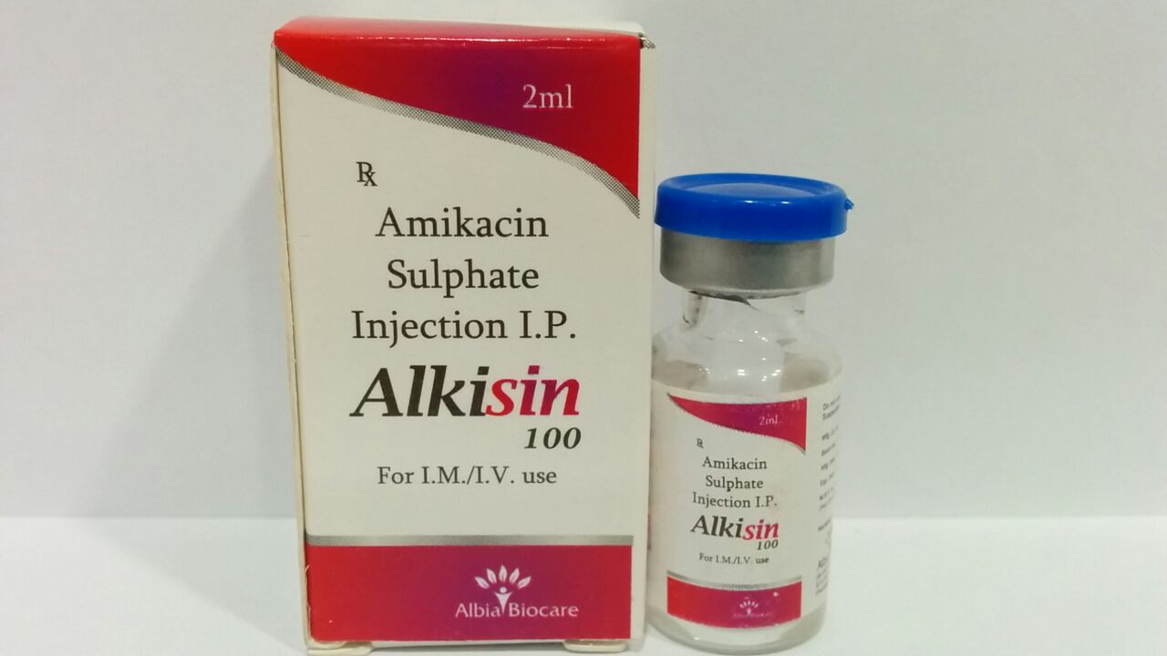 ALKISIN-100 | Amikacin -100 mg (2 ml)