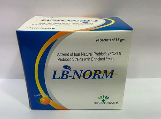 LB-NORM SACHET | Pre & Probiotic Strains with Zinc