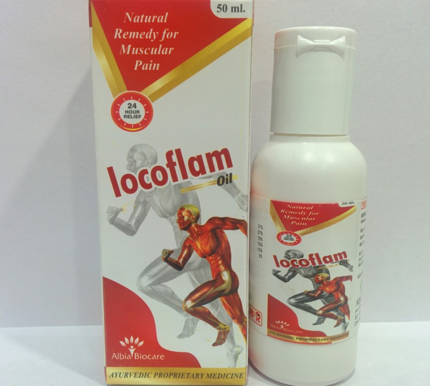 LOCOFLAM OIL | Herbal Pain Oil