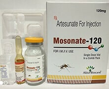MOSONATE-120 INJ. | Artesunate 120 mg