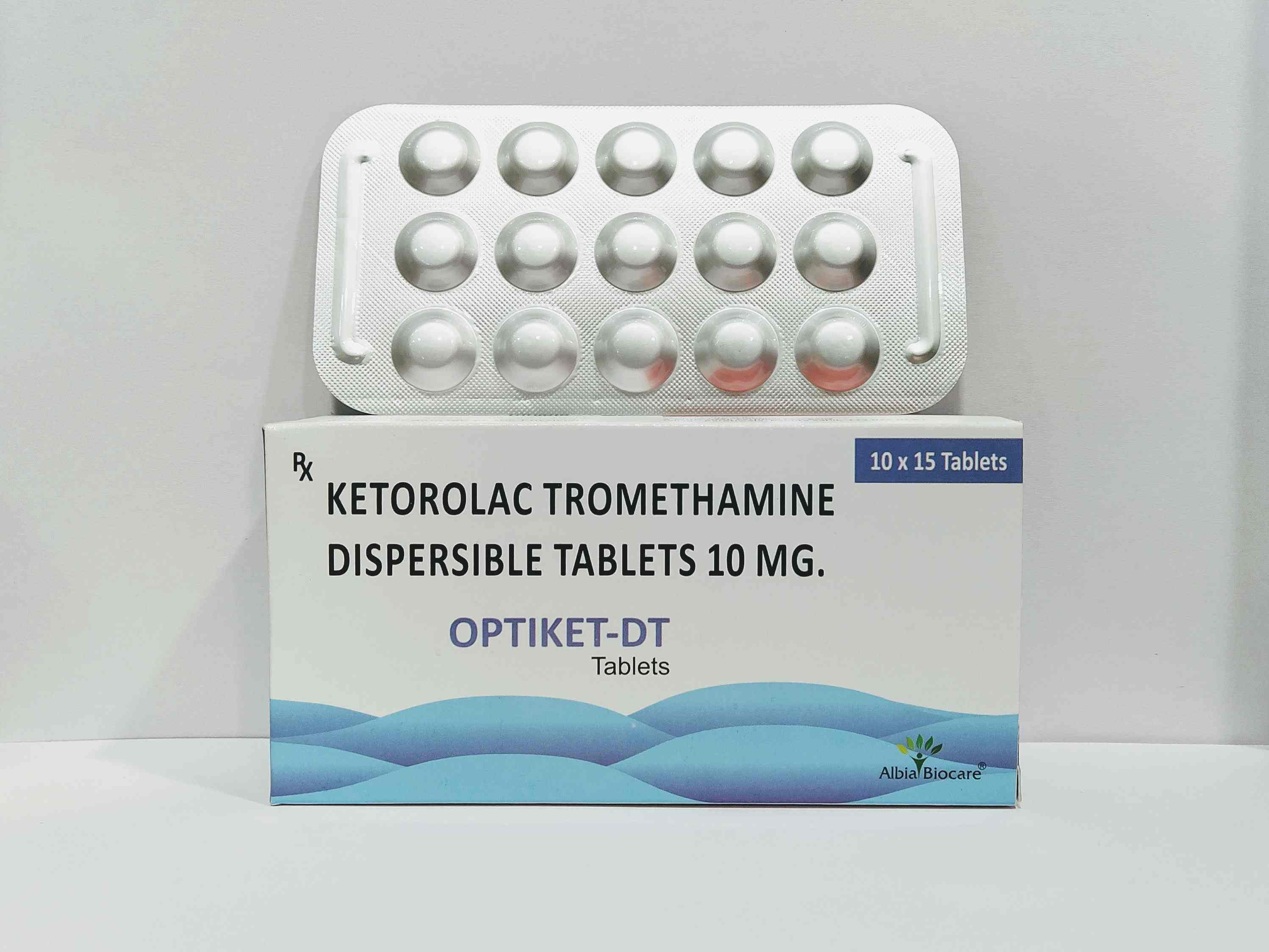OPTIKET-DT Tablet | Ketorolac 10 mg Dispersible Tablets