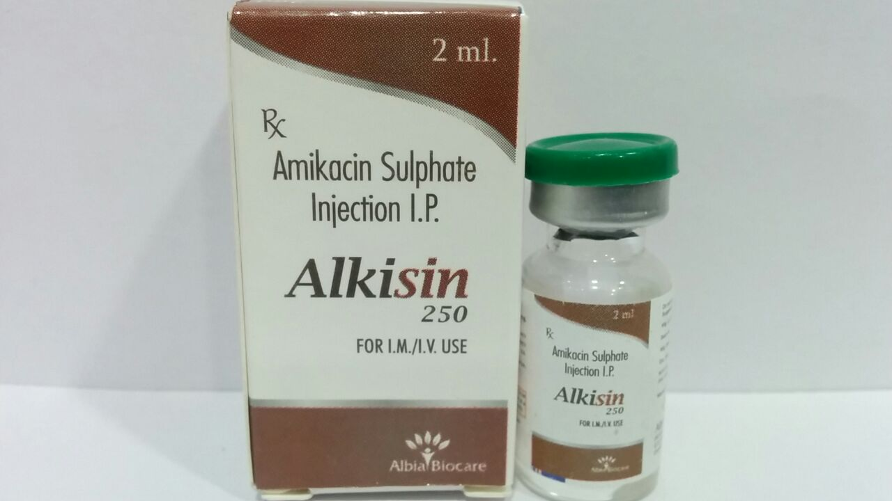 ALKISIN-250 | Amikacin -250 mg (2 ml)