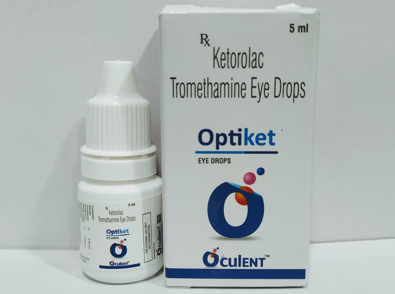 Optiket | Ketorolac Tromethamine 0.5 %