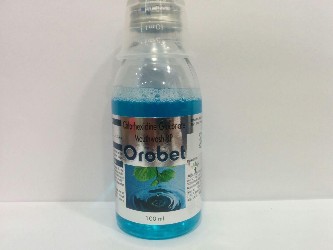 OROBET MOUTHWASH | Chlorhexidine Gluconate 0.2%